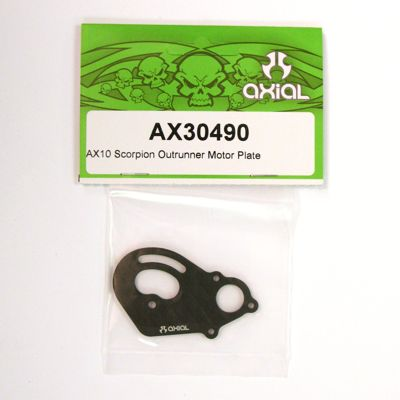 Axial AX10 Outrunner Motor Plate AX30490