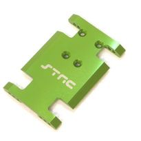 STRC Aluminum Center Chassis/Transmission Plate (Green) STA80007G