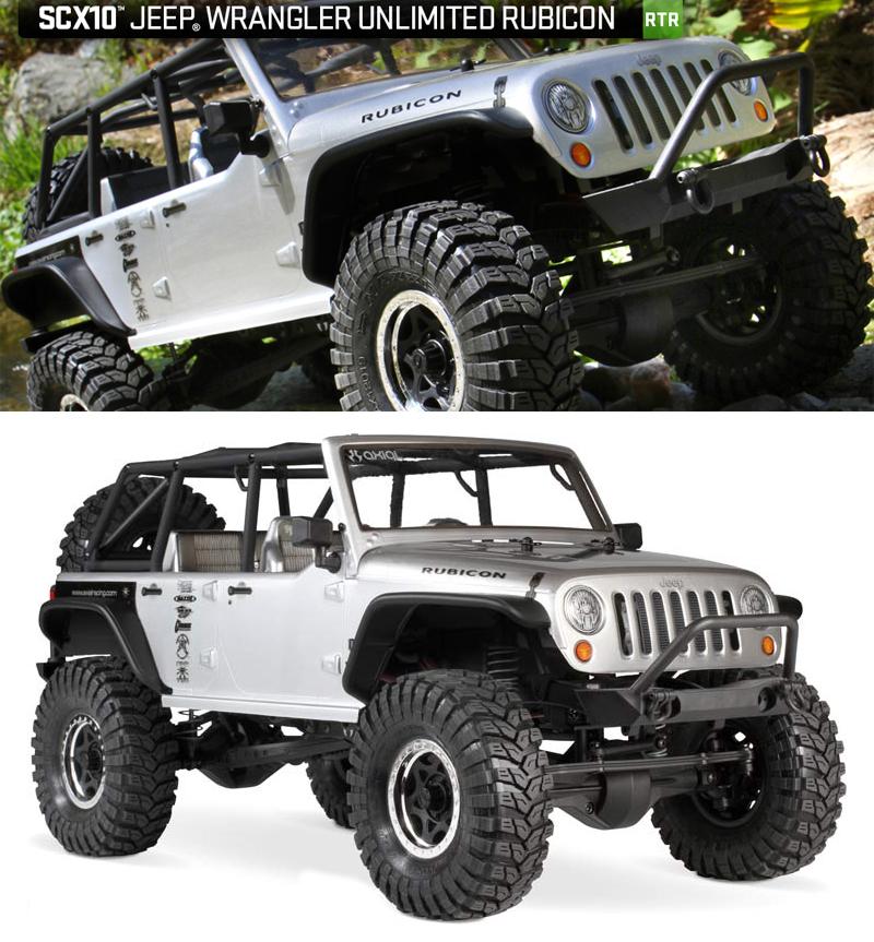 Axial AX90028 SCX10™ 2012 Jeep® Wrangler