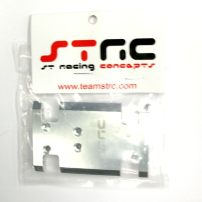 STRC Aluminum Center Chassis/Transmission Plate (Silver) STA80007S