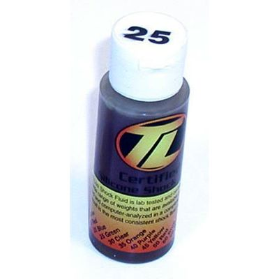 Losi Silicone Shock Oil - 25wt. (2oz.)