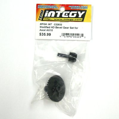 Integy AX10 HD Bevel Gear Set C22832