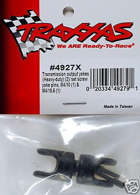 TRAXXAS Transmission Output Yokes T-Maxx 2.5
