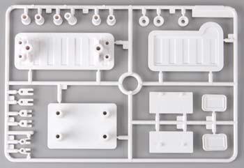Tamiya Hilux M Parts License Plates 58397