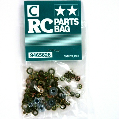 Tamiya Clod Buster parts bag C 9465626