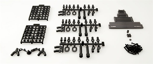 AXIAL SCX10 11.4 WB TR Aluminum Links Upgrade Set (290mm) AX30549