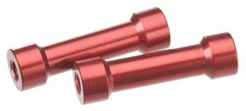 Axial 7X25MM POST - RED(2PCS) AXA1363