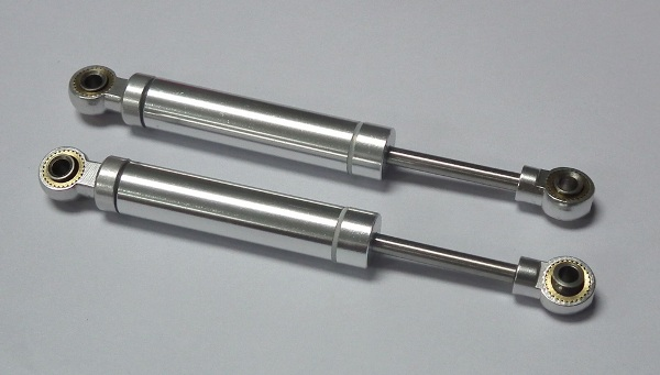 The Ultimate Scale Suspension Shocks 100mm (Silver)