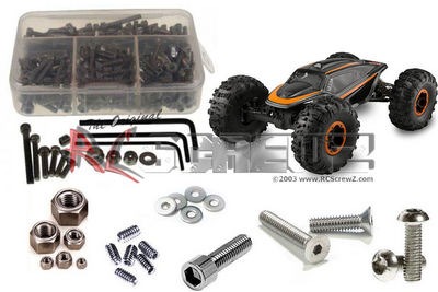 RCScrewZ XR10 Stainless Screw Kits are 100% complete RCZAXI003