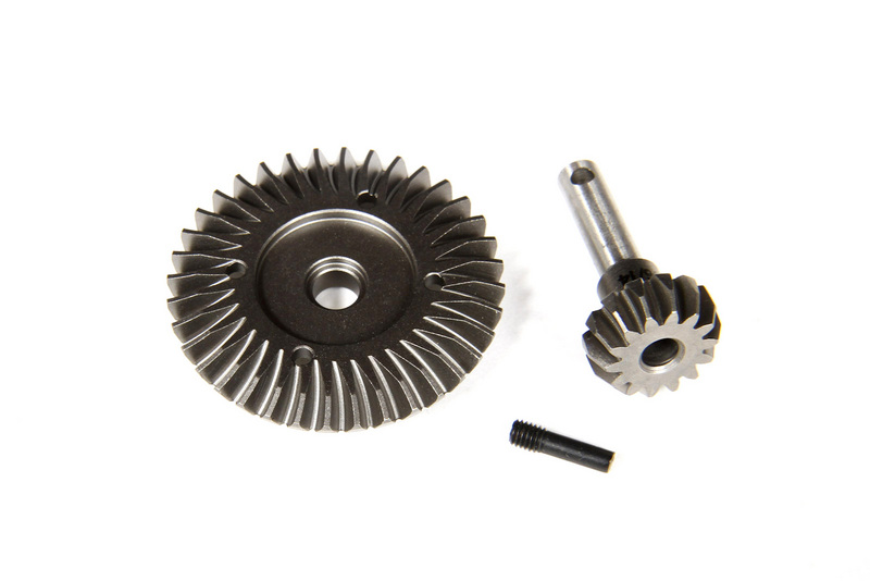 Axial Heavy Duty Bevel Gear Set - 36T - 14T