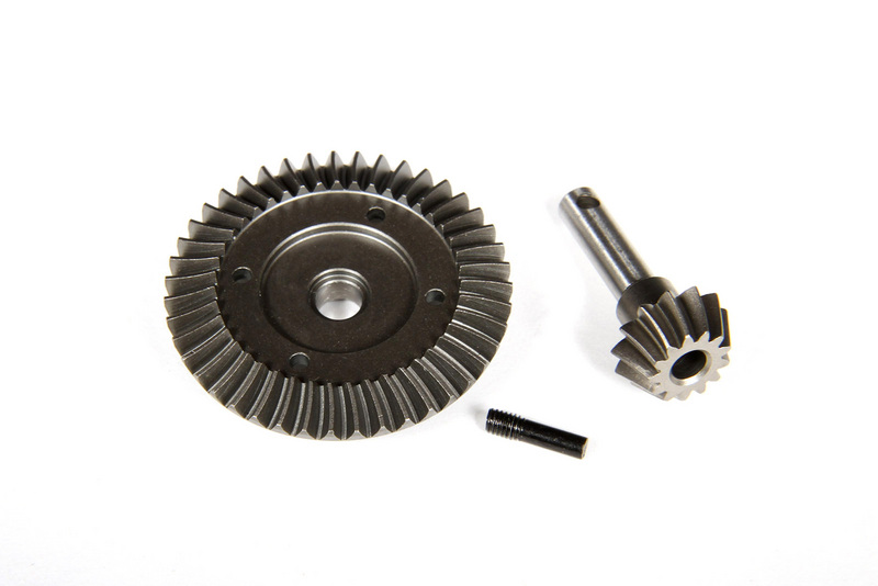Axial Heavy Duty Bevel Gear Set - 43T - 13T