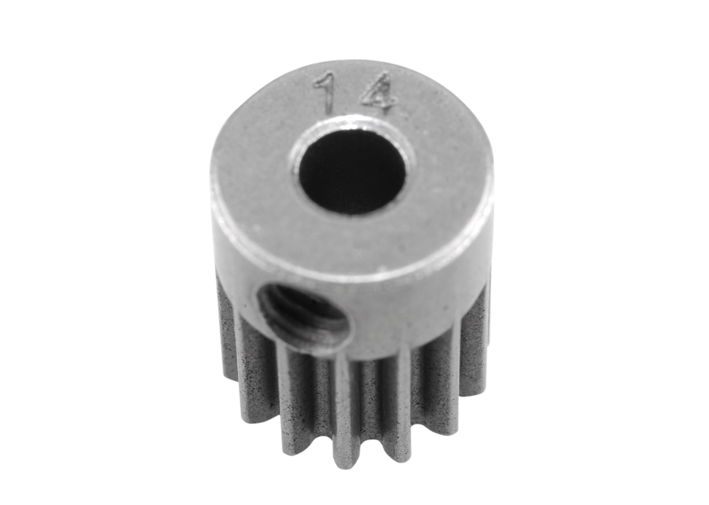AXIAL STEEL 48P PINION 14 TOOTH