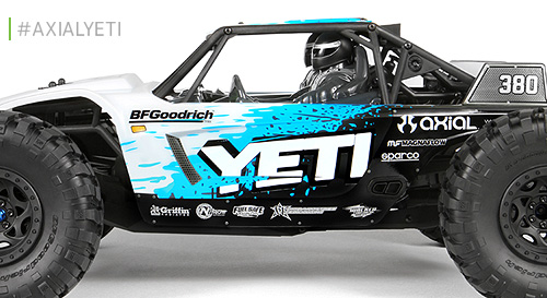 Axial YETI 4WD RTR Rock Racer AX90026