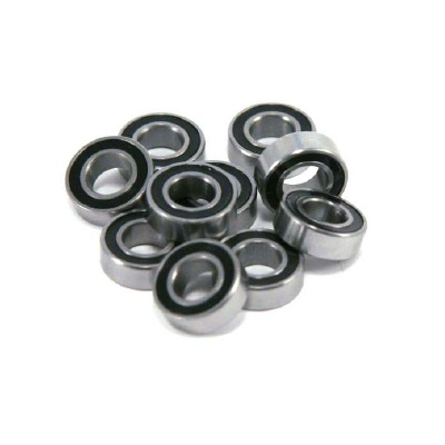 RCP 6x12x4mm Rubber Shielded Ball Bearing (each)