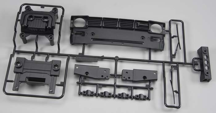 Tamiya Hilux High-Lift W Parts Front Grill Toyota  Kit 9225105