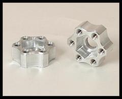 VANQUISH DH PROCOMP 710 HEX SPACER, 12MM (2PCS) .460