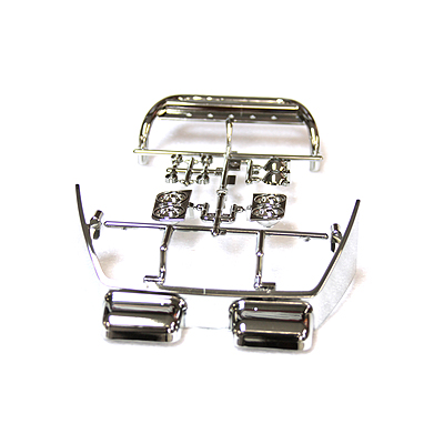 Tamiya Tundra K Parts (Chrome Push Bar, Roll Bar)