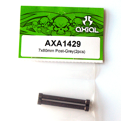 Axial 7x60mm Post (Grey) (2pcs) AXA1429