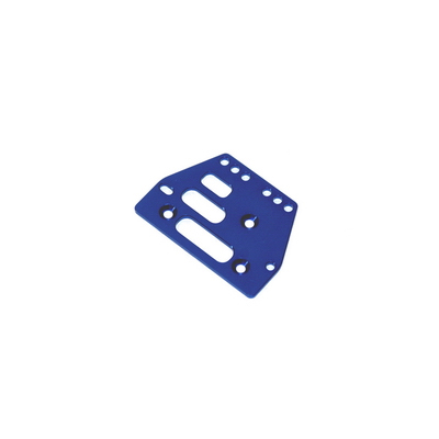STRC Machined Alum. Adjustable 4 link Front/Rear Plate (Blue) (1pc.) STA30485B