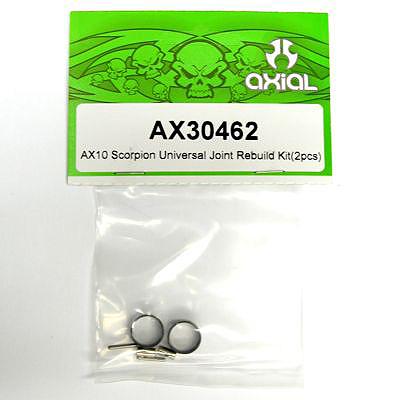 Axial SCX10/AX10 Universal Joint Rebuild Kit (2pcs) ax30462