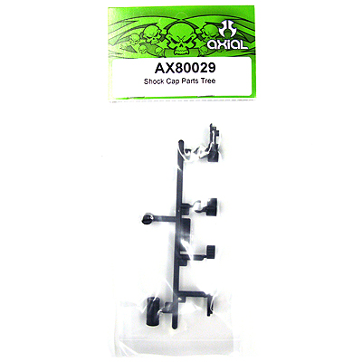 Axial SCX10 Shock Cap Parts Tree AX80029