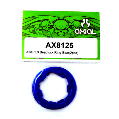 Axial 1.9 Beadlock Ring - Blue (2pcs) AX8125