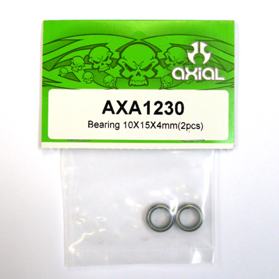 Axial Bearing 10 x 15 x 4 mm (2pcs.)