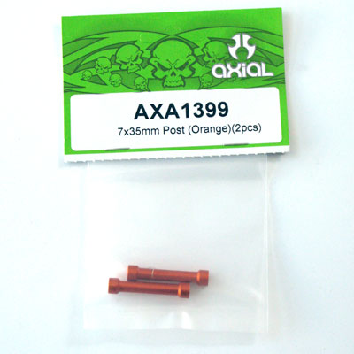 Axial 7x35mm Post (Orange)(2pcs) axa1399