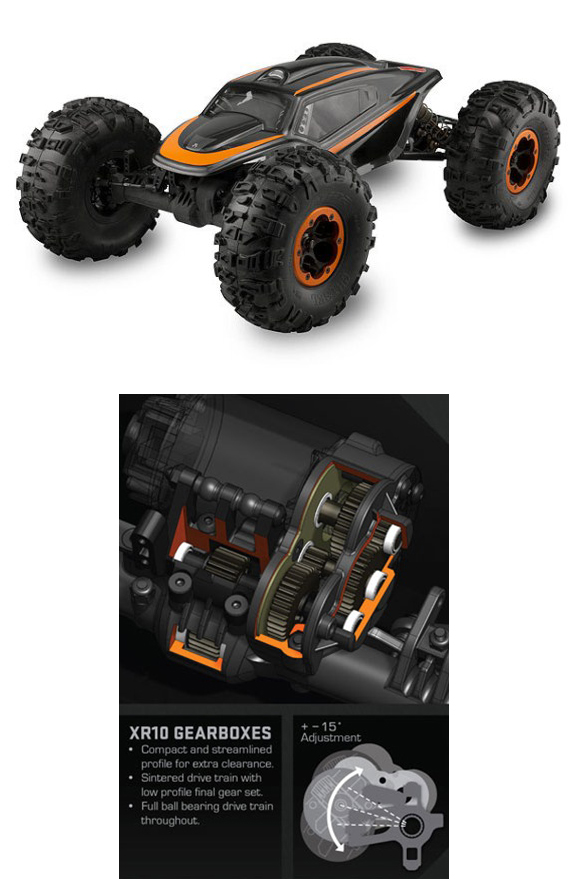 AXIAL XR10 CRAWLER KIT