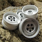 RC4WD Landies Classic White Scale Wheel Set  (4)