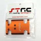 STRC Aluminum center Chassis/Transmission Plate Type II (Orange) STA80007O