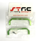 STRC Aluminum Lateral Chassis Braces (Green)