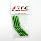 STRC 30 deg. Middle bend threaded suspension links (Green)