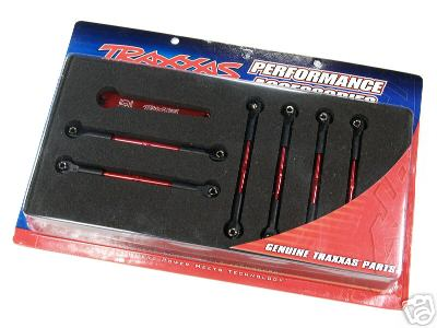 Traxxas Aluminum Turnbuckles Red Jato 5539X