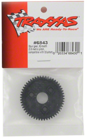 Traxxas .8 Mod (32 Pitch), 52 Tooth Spur Gear.