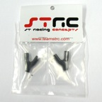 STRC Aluminum Upper Suspension Link Mount (1 Pair - Black)