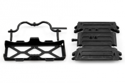 Axial Wraith Tube Frame Skid Plate Battery Tray AX80079