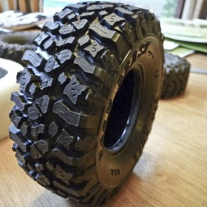 ROCK BEAST® R/C 1.9 Scale Tires PB9003NK