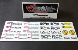 "RCP DECALS/STICKERS  ""PINK"""