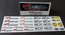 "RCP DECALS/STICKERS  ""RED"""