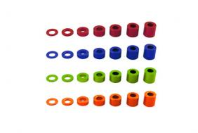 4x6mm Spacer (BLUE) (6pcs.) axa1346