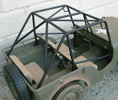 GI JOE WILLYS ROLL CAGE FASTBACK