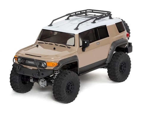 Venture Toyota FJ Cruiser RTR, 1/10 Scale, 4WD, Brushed, Beige, w/ 2.4GHz Radio System