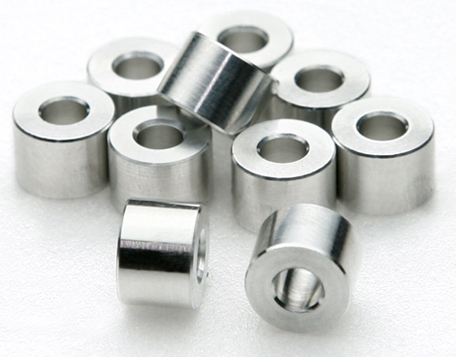 JUNFAC M3 ALUMINUM SPACER 7X5MM (10)