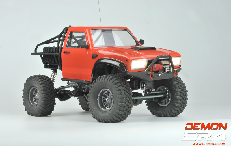 SR4C Demon 4x4 Crawler Kit, w/ LEXAN Body 1/10 Scale
