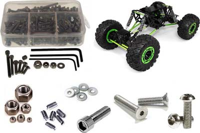 RCSCREWZ AXIAL SS SCREW KIT RCZAXI001
