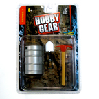 Hobby Gear 1:10 Scale Accessories (Keg, Axe, Pick Axe)
