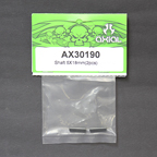 AX30190 Axial Shaft 5x18 (2Pcs) AX30190