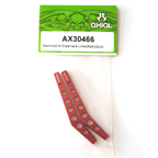 Axial Machined Hi-Clearence Links (Red) (2pcs)