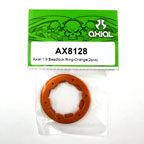 Axial 1.9 Beadlock Ring - Orange (2pcs)